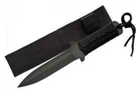 11 inch corded dagger blade survival knife 210846
