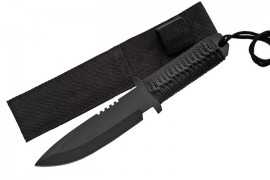11 inch corded spear point survival knife 210847