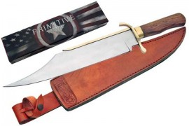 18 inch primitive bowie knife 203259