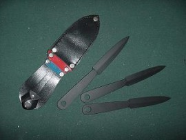 3 piece 7 inch throwing knife set 122737