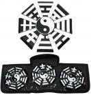 3pc yin yang throwing stars set tk2b