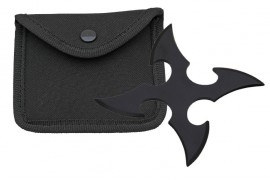 4 blade throwing star black fb0018bk