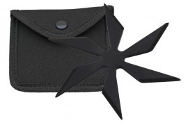 6 blade weighted star black fb0014bk