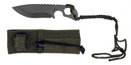 6.5 inch hunting knife with firestarter KC7763