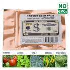 Barter Seed Pack Survival Heirloom Non GMO 4300 Seeds