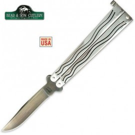Bear And Son Ti Coated Balisong Butterfly Knife