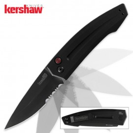 Kershaw Launch 2 Automatic Knife Black Serrated