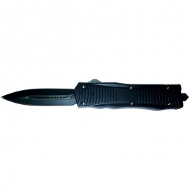 Night Protector D/A OTF Automatic Knife Black Double Edge