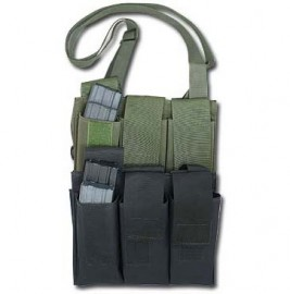 6 pack magazine pouch green a99