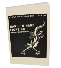 hand to hand fighting karate book bk124