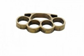 hard plastic belt buckle knuckle gold h06g