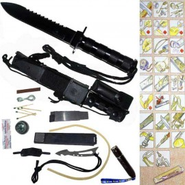 jungle king hunting survival knife h006