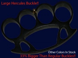 large black hercules belt buckle h05lbk