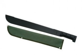 machete with saw sheath 926732BK