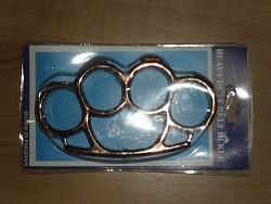 shiny copper knuckle buckles kn02co