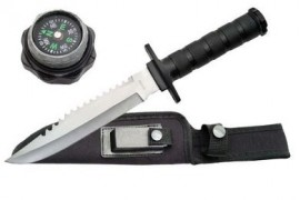 survival knife 210681BK