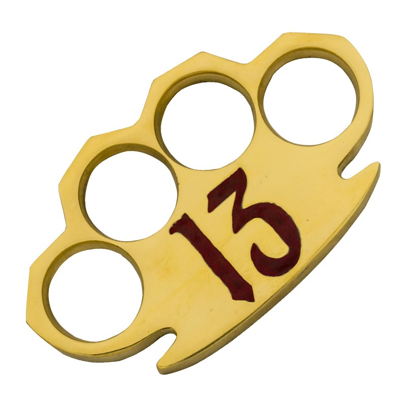 Dalton 10 Oz Real Brass Knuckles Buckle Paperweight