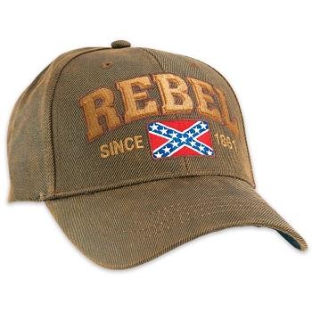 b7675973cb519 Rebel Confederate Oilskin Cap Hat